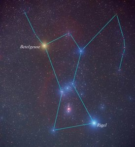 Orion star map